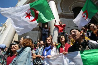 تظاهرات ضددولتی در الجزیره، پایتخت الجزایر