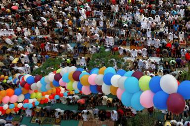 نماز عید فطر در قاهره
