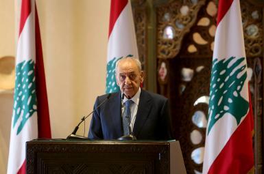 Nabih Berri, Speaker of Lebanese parliament. October 1, 2020