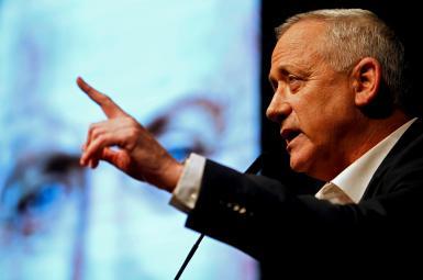 Israel defense minister benny Gantz. FILE