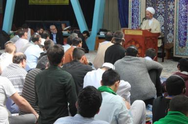 اعتکاف در مرکز اسلامی هامبورگ