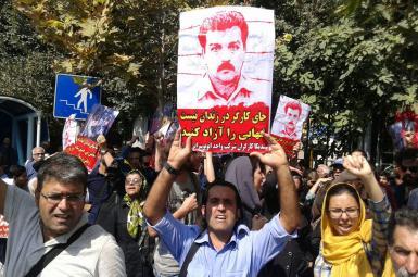 بازداشت همسر رضا شهابی و شماری از معترضان در تجمع اعتراضی