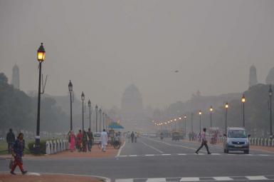 آلودگی هوای دهلینو