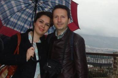 احمد رضا جلالی و همسرش