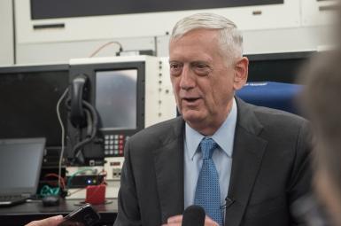 جیمز متیس، وزیر دفاع آمریکا