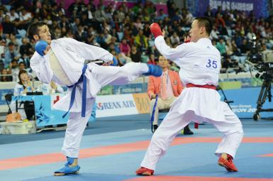 حریفان کاراته کاهای ایران در لیگ جهانی فرانسه
