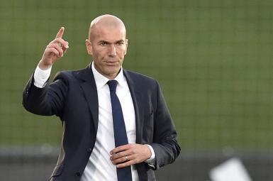 زینالدین زیدان، سرمربی رئال مادرید