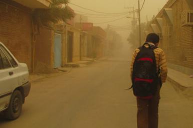 گرد و غبار شدیدخوزستان