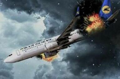 صورة تقريبية لإسقاط الطائرة الأوكرانية