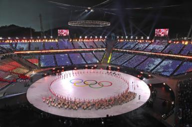 مراسم اختتامیه بیست و سومین دوره بازیهای المپیک زمستانی در پیونگ چانگ کره جنوبی