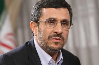 محمود احمدی نژاد رئیس جمهور پیشین ایران