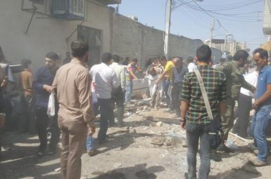 انفجار کپسول گاز در نزدیکی حرم حضرت معصومه