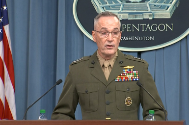 ژنرال جوزف دانفورد رئیس ستاد مشترک ارتش آمریکا