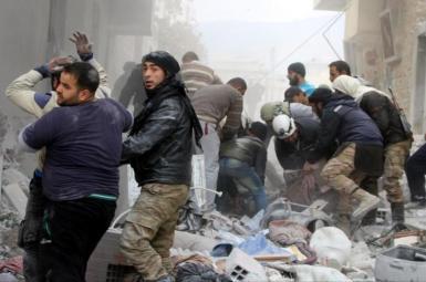کشته شدن ۱۵۰ غیرنظامی در ادلب توسط جنگندههای روسیه