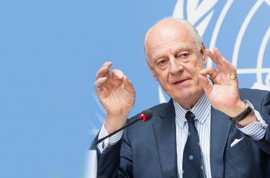 دی میستورا نماینده سازمان ملل در سوریه