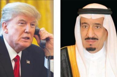 گفتوگوی تلفنی ترامپ و ملک سلمان