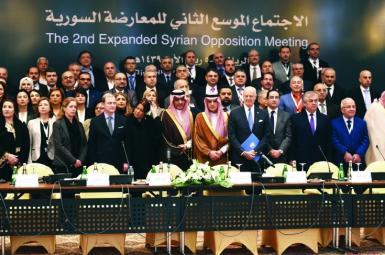 مخالفان سوری در نشست ریاض پایتخت عربستان