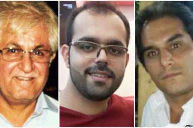 سه مسیحی ایرانی