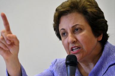شیرین عبادی حقوقدان و فعال بشر ایرانی و برنده جایزه صلح نوبل