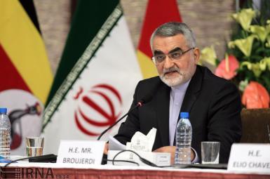 علاءالدین بروجردی رئیس کمیسیون امنیت ملی و سیاست خارجی
