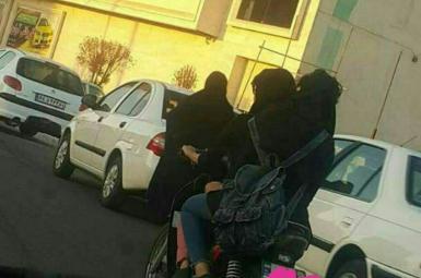 بازداشت دختران موتورسوار دزفولی