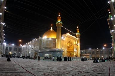 آرامگاه امام اول شیعیان در شهر نجف عراق