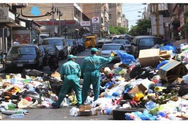 زباله در لبنان