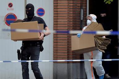 عملیات انتحاری در ایستگاه مرکزی قطار بروکسل