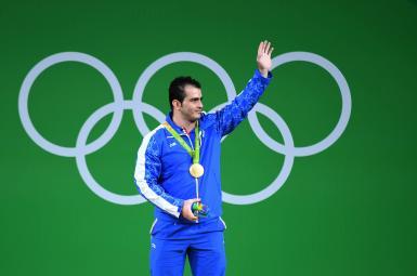 سهراب مرادی، دارنده مدال طلای وزنه برداری بازی های المپیک ۲۰۱۶ ریو برزیل