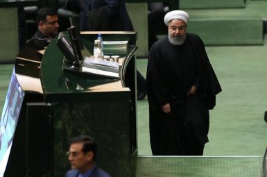 حسن روحانی، رییس جمهوری اسلامی ایران در مجلس
