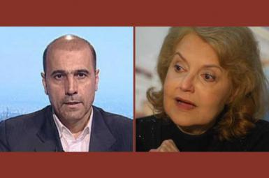 دیپلمات ایرانی امیر موسوی و همسر رئيس جمهور پیشین الجزایر