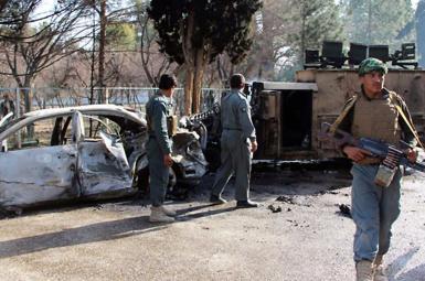 حمله انتحاری توسط خودروی بمبگذاری شده