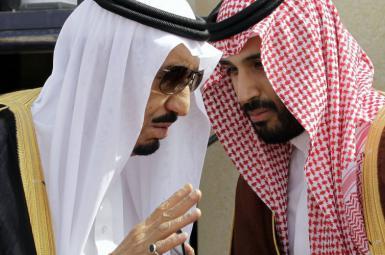 ملک سلمان بنعبدالعزیز و پسرش