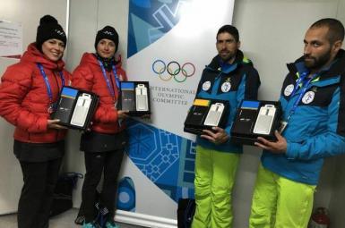 ورزشکاران ایرانی، هدایای سامسونگ
