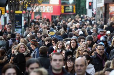 جمعیت بریتانیا هرسال نیممیلیون نفر بیشتر میشود