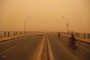 ریزگردها در خوزستان