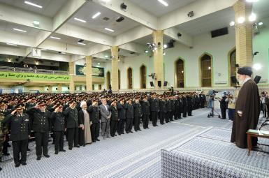 رهبر ایران در سخنانی در ملاقات با پرسنل نیروی انتظامی