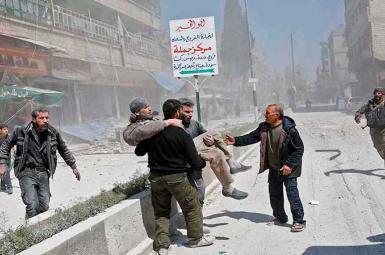 حمله هوایی جنگندههای رژیم اسد