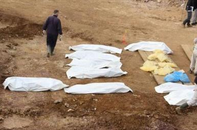 کشف گور دستهجمعی قربانیان داعش