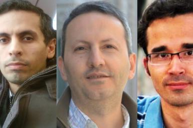 امید کوکبی، احمدرضا جلالی و حمید بابایی