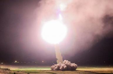 حملات موشکی سپاه
