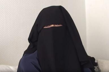 امیلی کونیگ فرانسوی، عضو داعش، که بهدست شبهنظامیان کُرد سوریه دستگیر شده