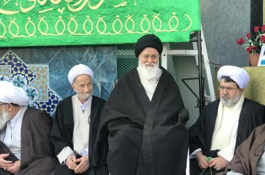 احمد علمالهدی، امامجمعهی مشهد