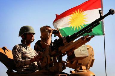 نیروی پیشمرگه در انفجار کرکوک عراق