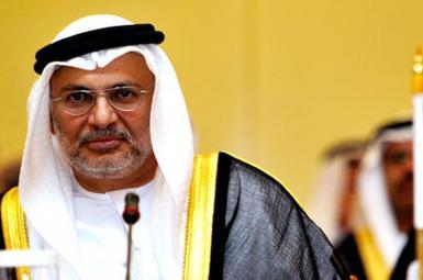 انور قرقاش، وزیرامورخارجهی امارات متحدهی عربی