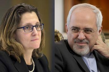 کریستیا فریلند ومحمدجواد ظریف