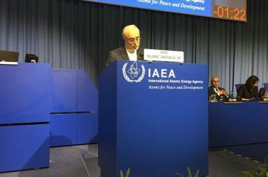 علیاکبر صالحی در شصتودومین کنفرانس عمومی آژانس بینالمللی انرژی اتمی