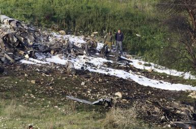 ارتش سوریه گفت که یک هواپیمای اف-۱۶ اسرائیلی را هدف قرار داده است.