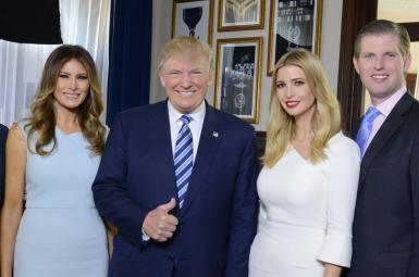 دونالد ترامپ و خانواده
