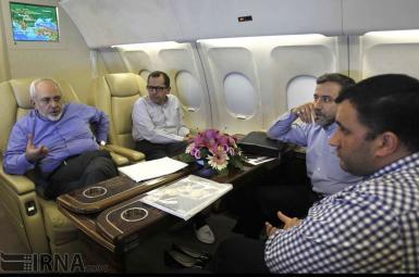 هواپیمای محمدجواد ظریف